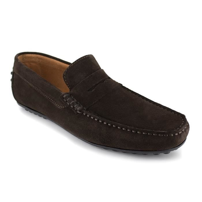 J. BRADFORD Mocassins Robe - Homme - Marron