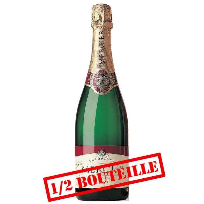 1/2 Bouteille Champagne Mercier x1