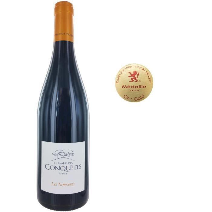 Domaine des Conquêtes Les Innocents 2015 Pays de l'Hérault - Vin rouge du Languedoc Roussillon