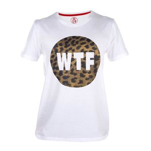 WTF T-shirt Homme Leo - Blanc