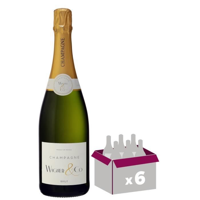Champagne Wagner & Co Brut 75 cl