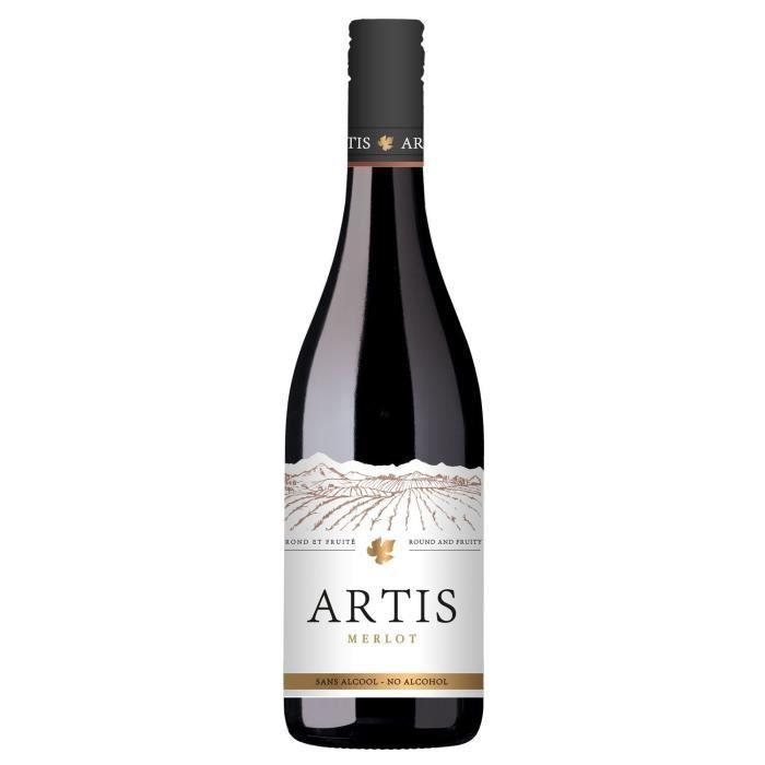 Artis Merlot - Vin sans alcool - Rouge