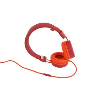 Wiko Wishake Casque Filaire Rouge