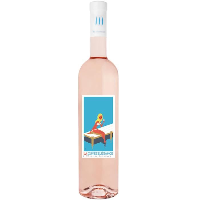 La Cuvée Elegance 2019 Côtes de Provence - Vin rosé de Provence