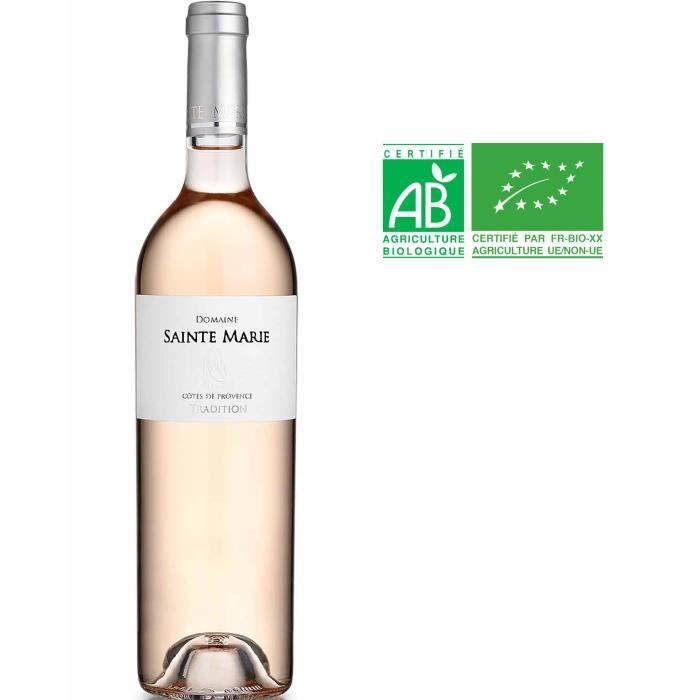 Domaine Sainte Marie 2019 Côtes de Provence - Vin rosé de Provence - Bio