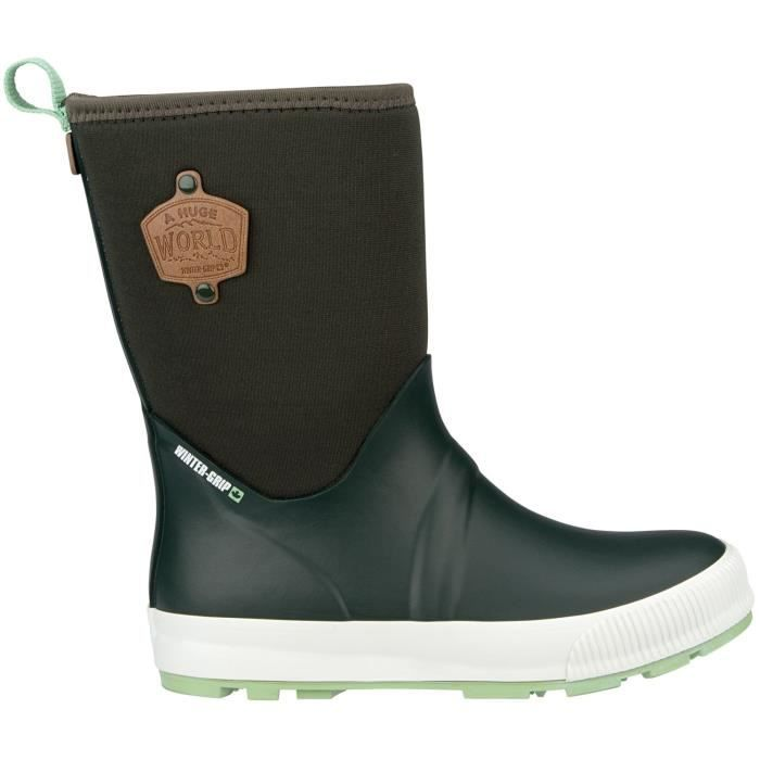 WINTER GRIP Chaussures Après skis Néoprène - Femme - Vert