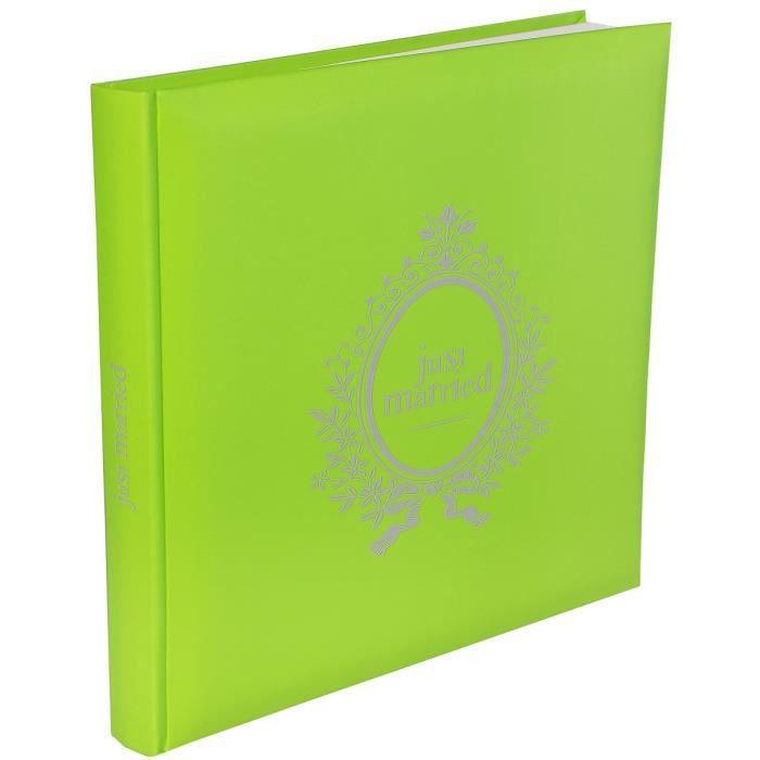 SANTEX Livre d'Or Just Married Vert