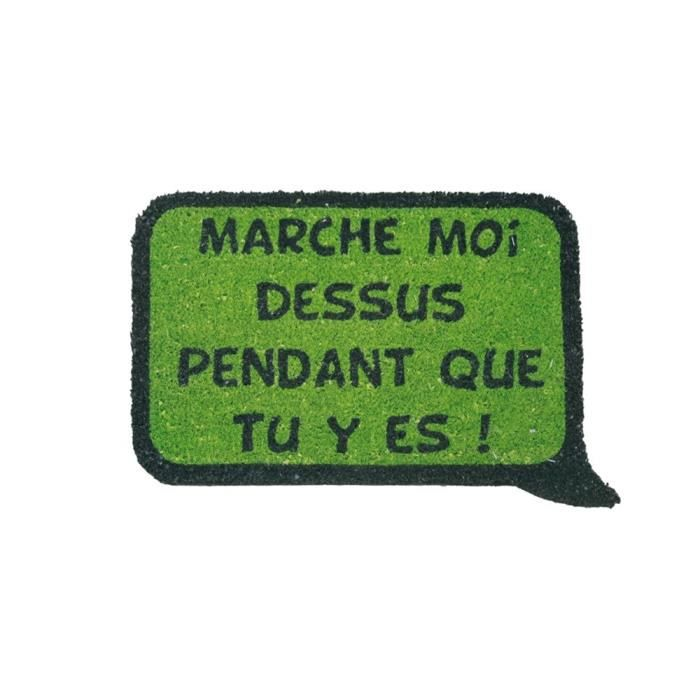 Tapis rectangle vert pour 7€
