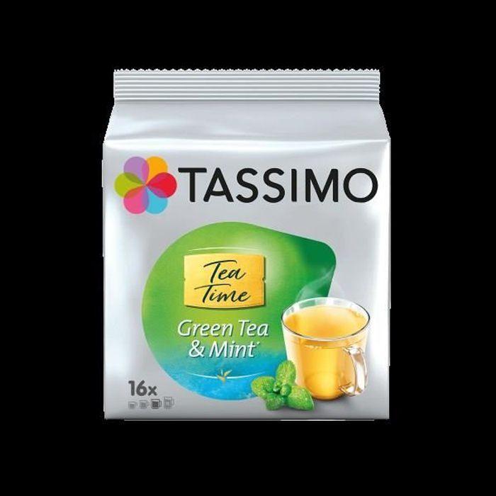Tassimo Twinnings Thé Vert en Dosettes x16 - 40 Gr
