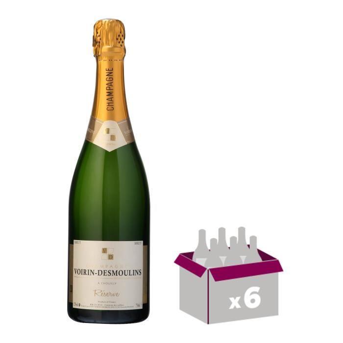 VOIRIN DEMOUSLIN Réserve Champagne - Brut - 75 cl x 6