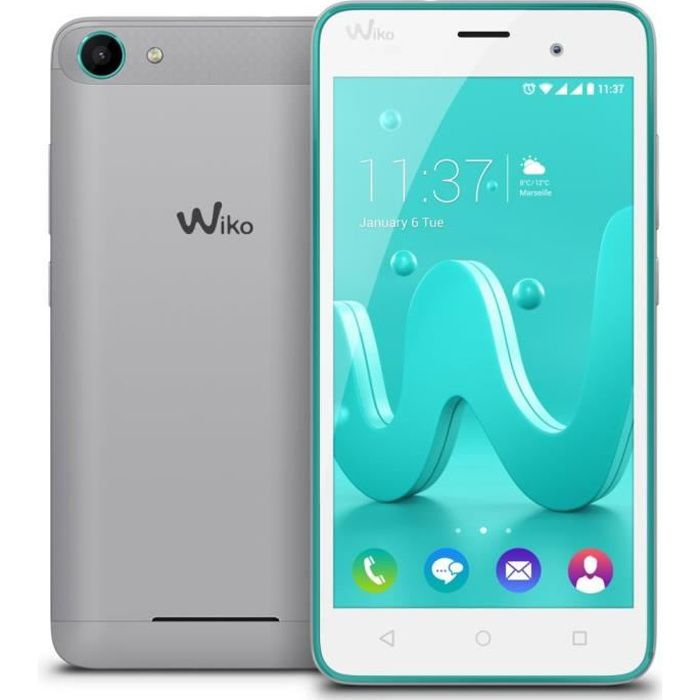 Wiko Jerry Bleen Silver