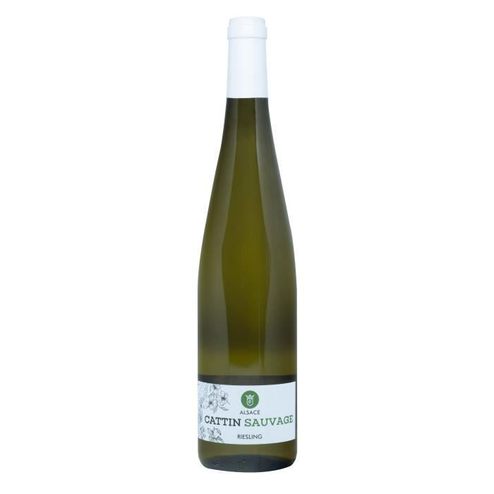 Cattin Sauvage 2018 Riesling - Vin blanc d'Alsace Bio