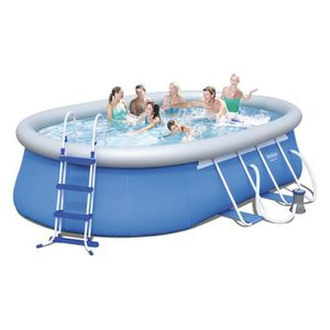 BESTWAY Kit Piscine autoportante ovale - 4,88x3,05x1,07m