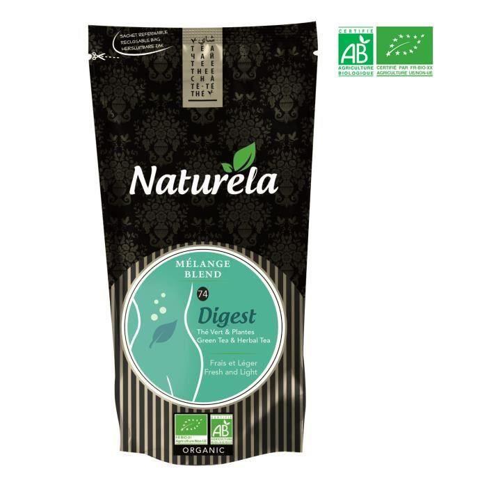 NATURELA Thé vert Digest n° 74 - BIO - 100 g