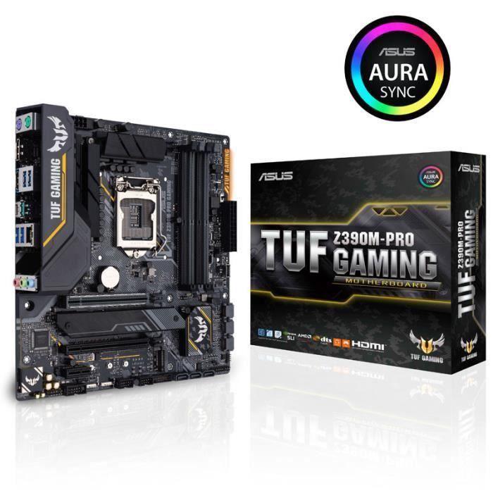 Carte mere Asus Tuf Z390m Pro Gaming, Intel Z390 Sockel 1151