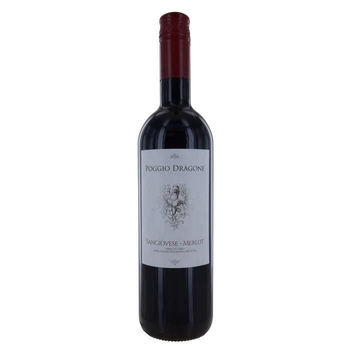 Poggio Dragone Terre di chieti - Vin Rouge d'Italie
