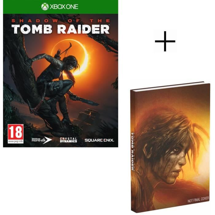 Shadow of the Tomb Raider Jeu Xbox One + Guide de jeu Edition Collector