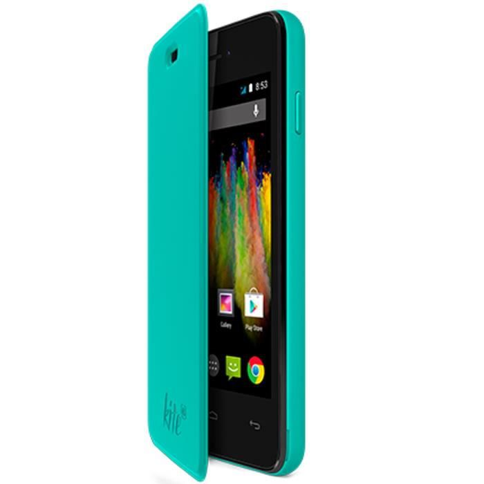 Wiko Folio Back cover Kite Turquoise