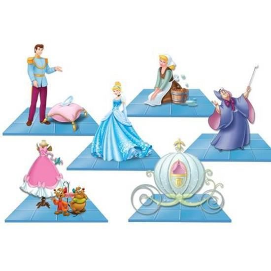 DISNEY 1 Maxi Figurine Cendrillon de l'Assortiment
