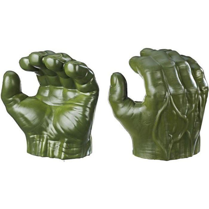 Marvel Avengers Endgame – Poings de Hulk - Accessoire de déguisement