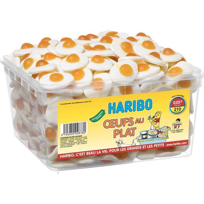 HARIBO Oeufs au plat 210 pièces (x1)