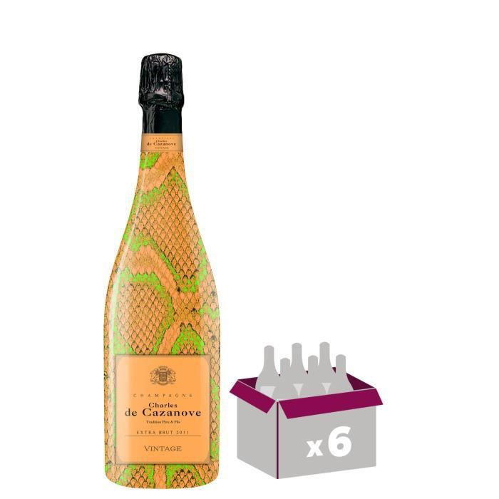 Champagne De Cazanove Cuvée Sauvage Fluo Extra Brut 2011