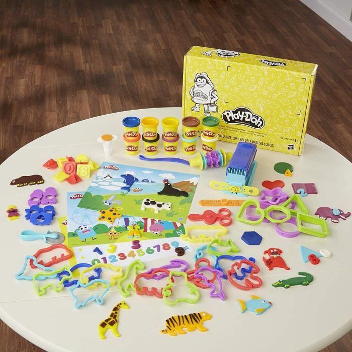 Play-Doh - Pate A Modeler - Coffret Ecole contenant 10 pots de 56 g chacun