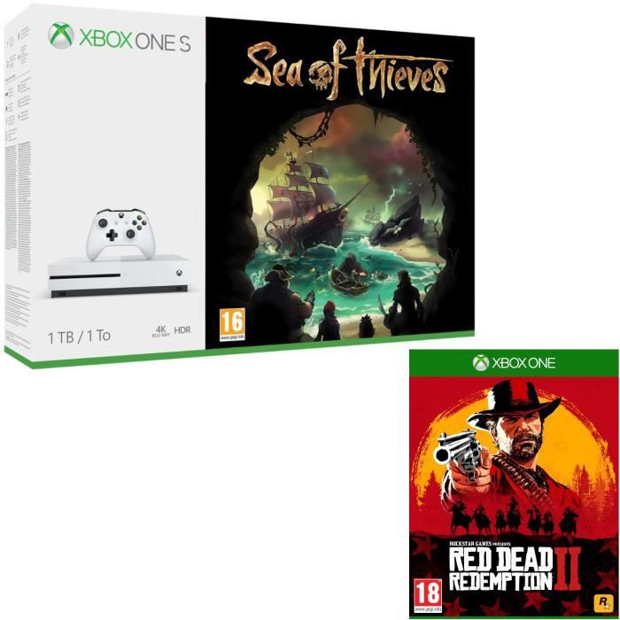 Xbox One S 1 To Sea of Thieves + Red Dead Redemption 2