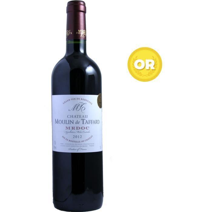 Château Moulin de Taffard 2012 Médoc - Vin rouge de Bordeaux