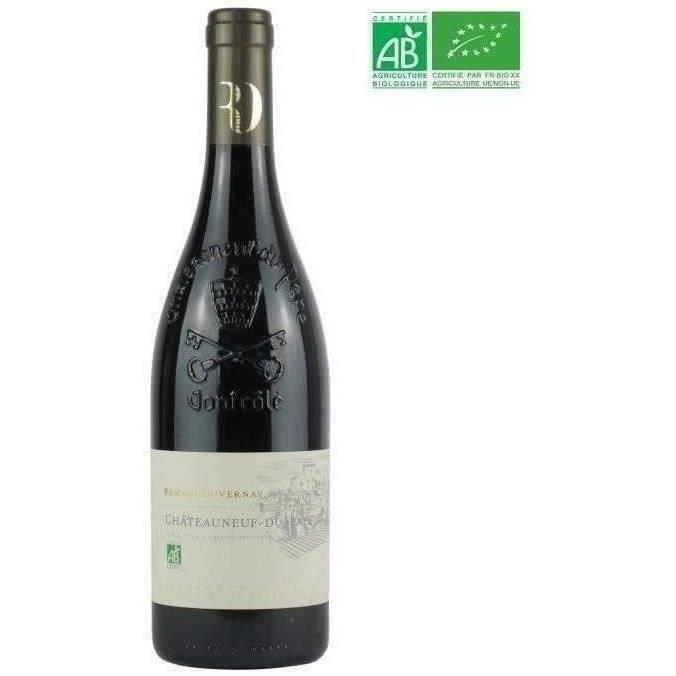 Romain Duvernay 2014 Châteauneuf-du-Pape - Vin rouge de la Vallée du Rhône Bio