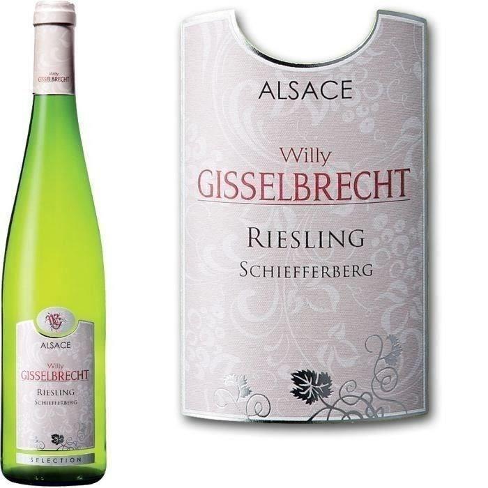 Willy Gisselbrecht 2017 Alsace Riesling Schiefferberg - Vin blanc d'Alsace
