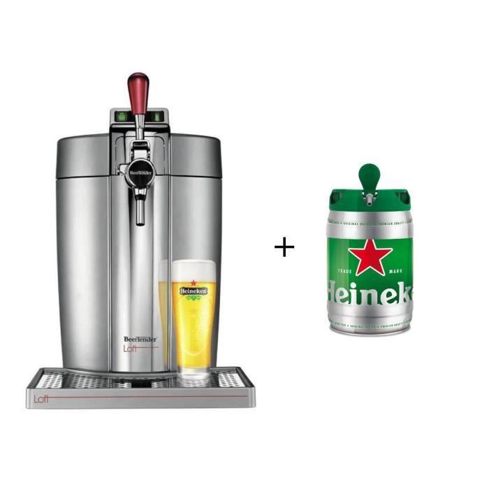 KRUPS VB700E00 Beertender Loft + 1 fût Heineken
