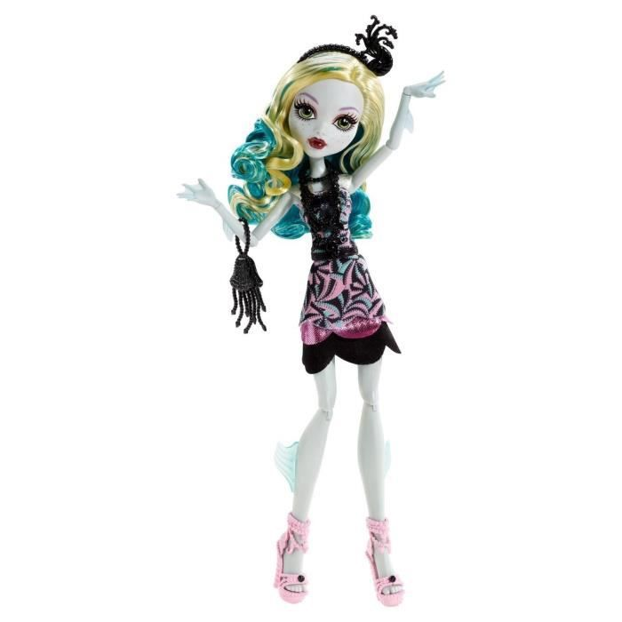 MONSTER HIGH Lagoona Tapis Noir