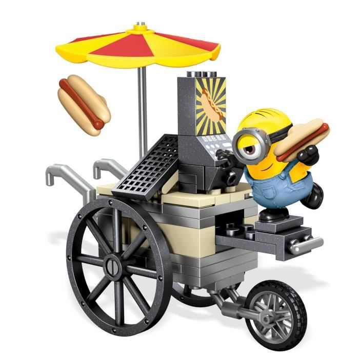 LES MINIONS Mega Bloks - Hot Dogs Volants