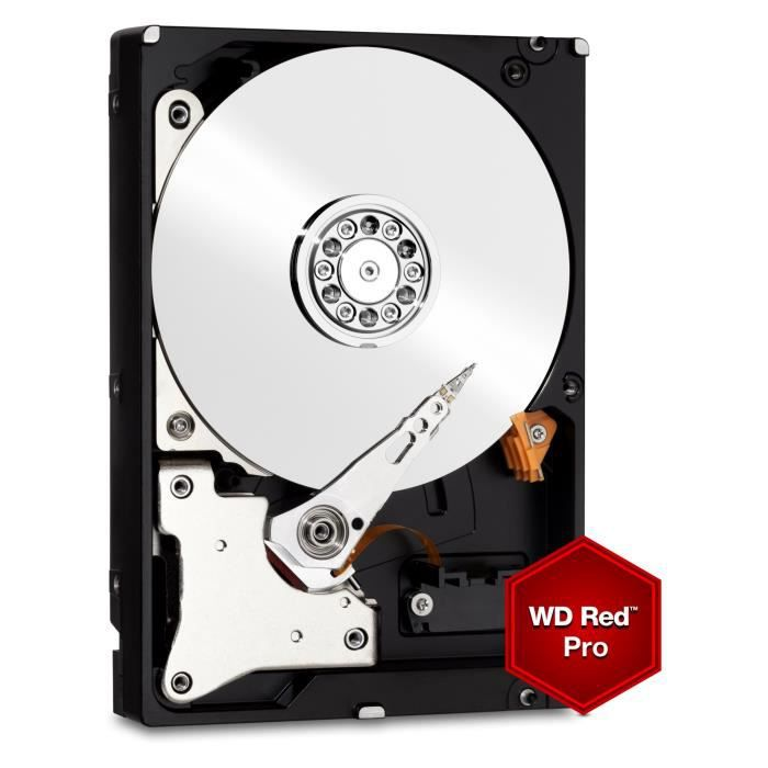 WD Red™ Pro - Disque dur Interne NAS - 10To - 7 200 tr/min - 3.5\