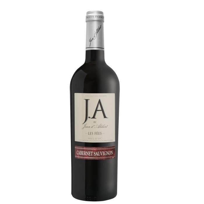 J.A By Jean d'Alibert Cabernet Sauvignon Les Fées 2018 Pays d'Oc - Vin Rouge du Languedoc-Roussillon