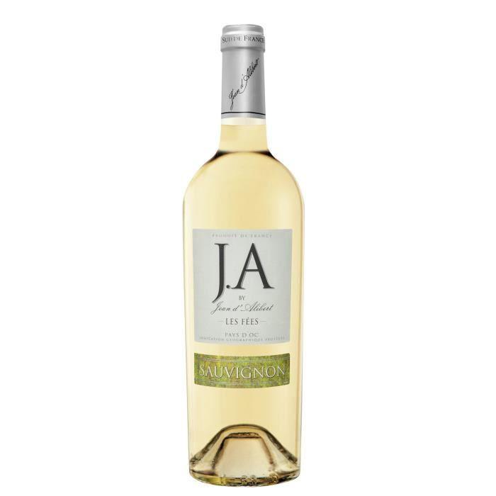 J.A By Jean d'Alibert Sauvignon Les Fées 2018 Pays d'Oc - Vin Blanc du Languedoc-Roussillon