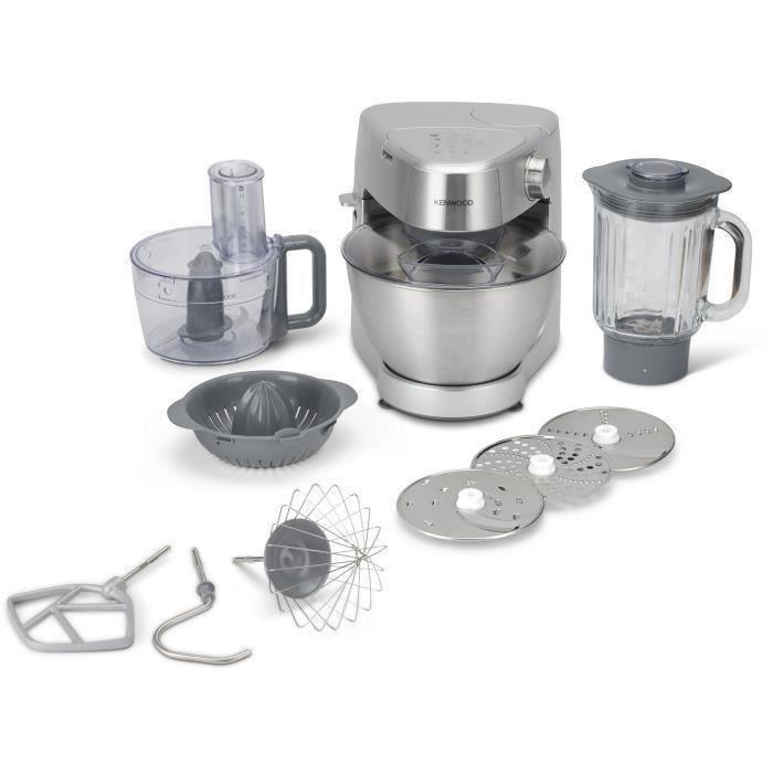 KENWOOD KHC29.J0SI Robot pâtissier Kenwood Prospero - 2 accessoires - Silver