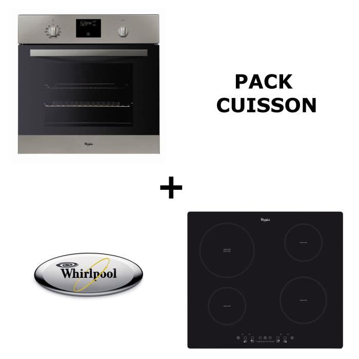 WHIRLPOOL Pack cuisson : Four pyrolyse + Table induction WHIPFNE