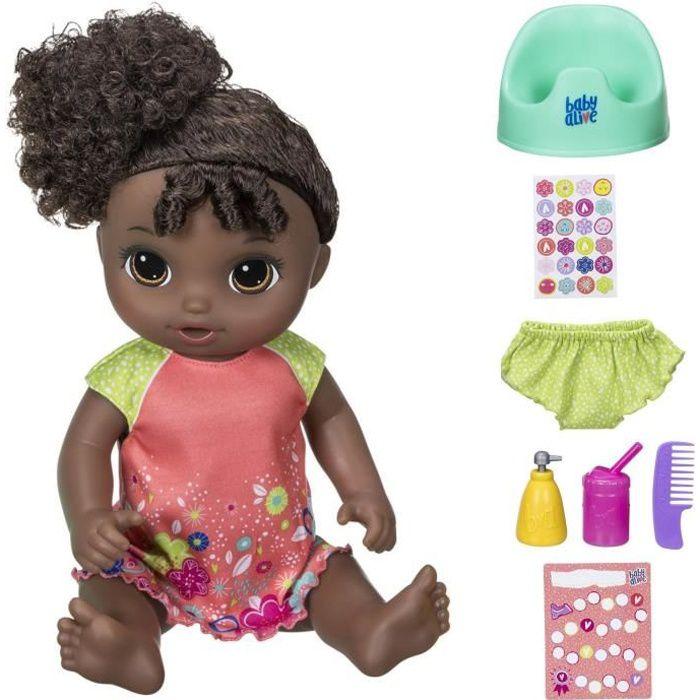 BABY ALIVE - Va sur le Pot - Poupon à Fonctions (cheveux noirs)