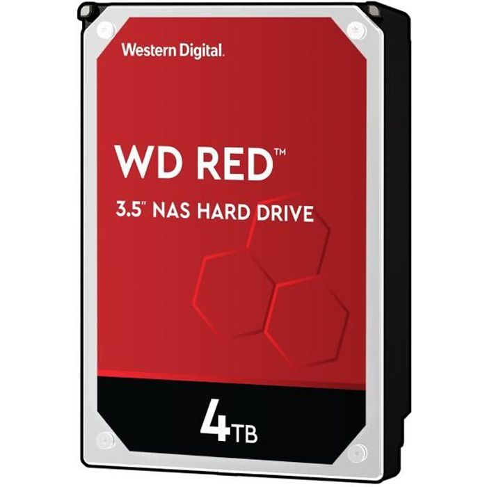 WD Red 4To 64Mo 3.5 WD40EFRX