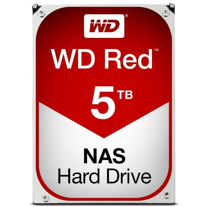 WD Red 5To 64Mo 3.5\