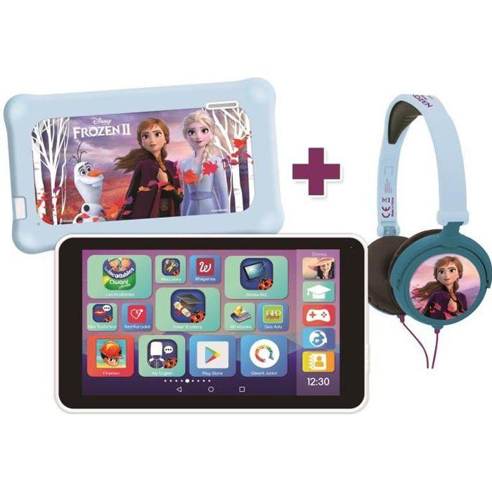 LA REINE DES NEIGES 2 LexiTab® Master Tablette enfant 7- avec pochette et casque stéréo inclus LEXIBOOK