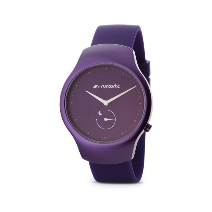 RUNTASTIC Montre Moment Fun Violet Femme RNG