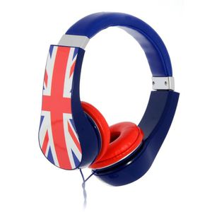 UNION JACK Casque audio UK Kidsafe