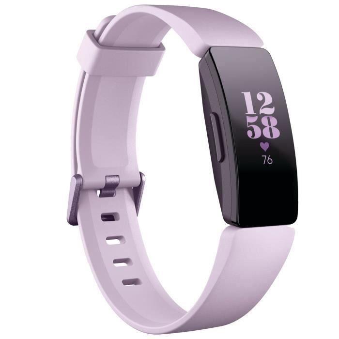 FITBIT Inspire HR - Bracelet connecté pour la forme au quotidien - Lilas