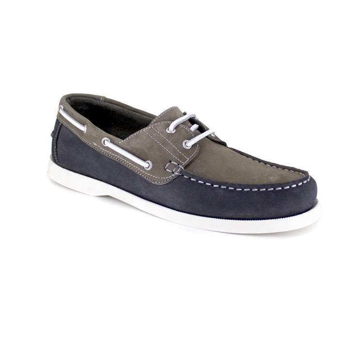 J.BRADFORD JB-CANOA Gris Chaussure Homme