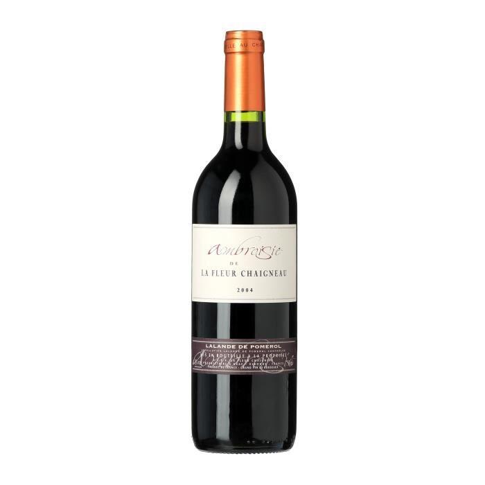 Ambroisie La Fleur Chaigneau 2004 Lalande de Pomerol - Vin rouge de Bordeaux