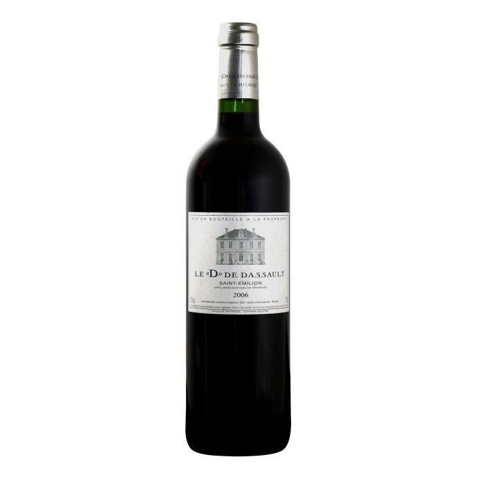 Le D de Dassault 2006 Saint Emilion - Vin rouge de Bordeaux