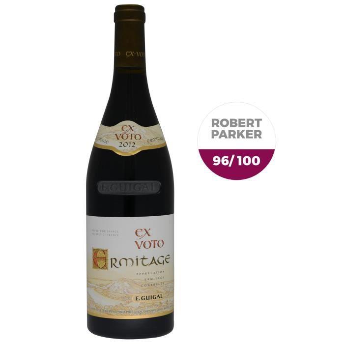 E. Guigal 2012 Ermitage Ex-Voto - Vin rouge du Vallée du Rhône